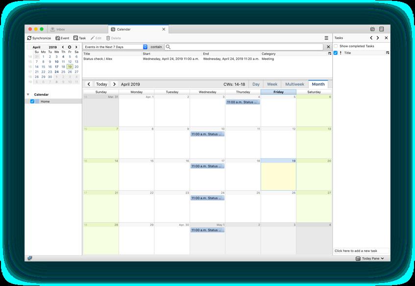 Thunderbird Sincronizar Google Calendar, Contacts y Tasks